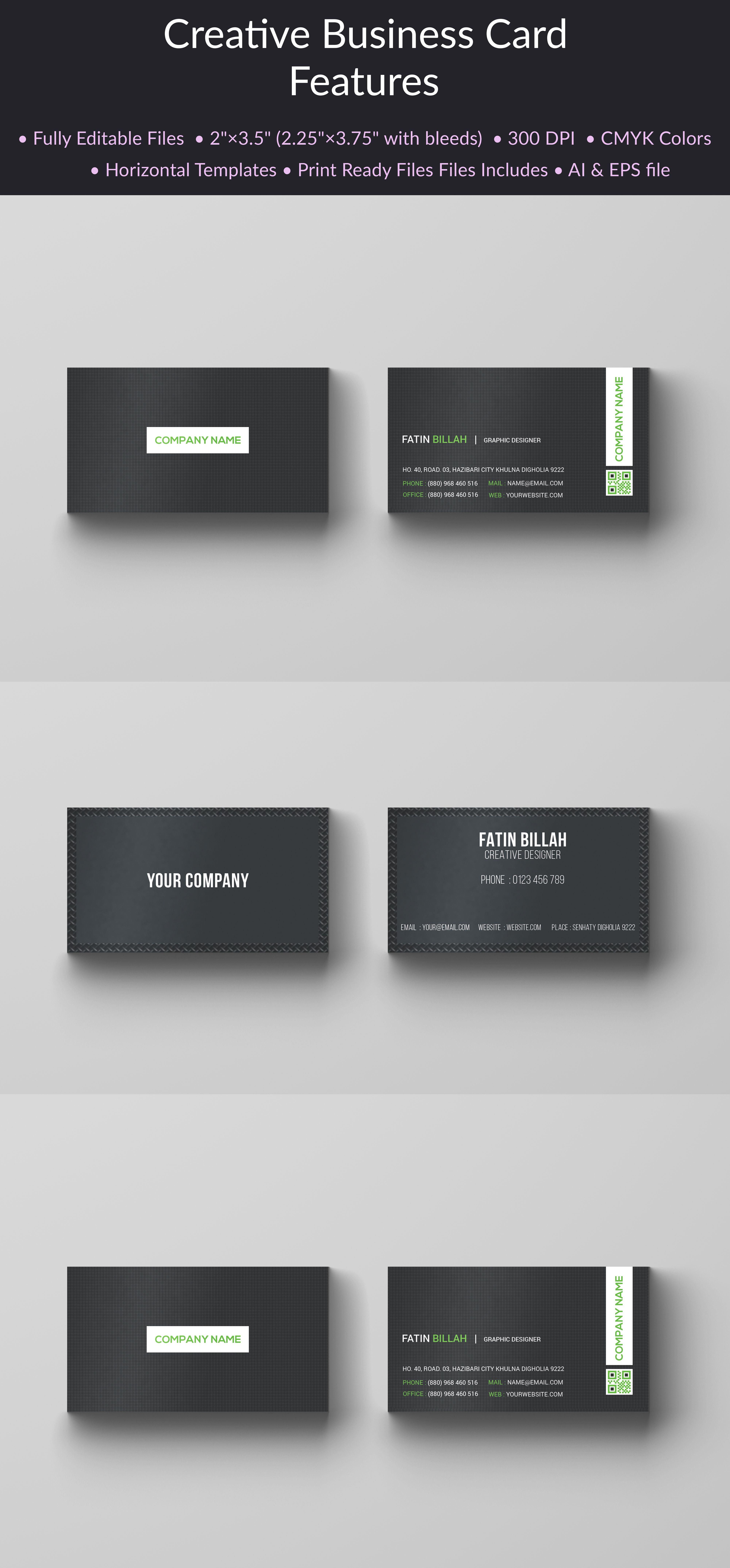 Fatin Billah I Will Design Excellent Business Card Within 24 Hour For 5 On Fiverr Com Business Cards Creative Business Cards Card Design