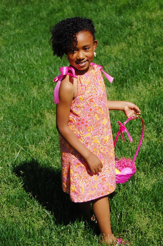 Walmart Mom Jennae creates DIY Reversibe Easter dresses for girls ...