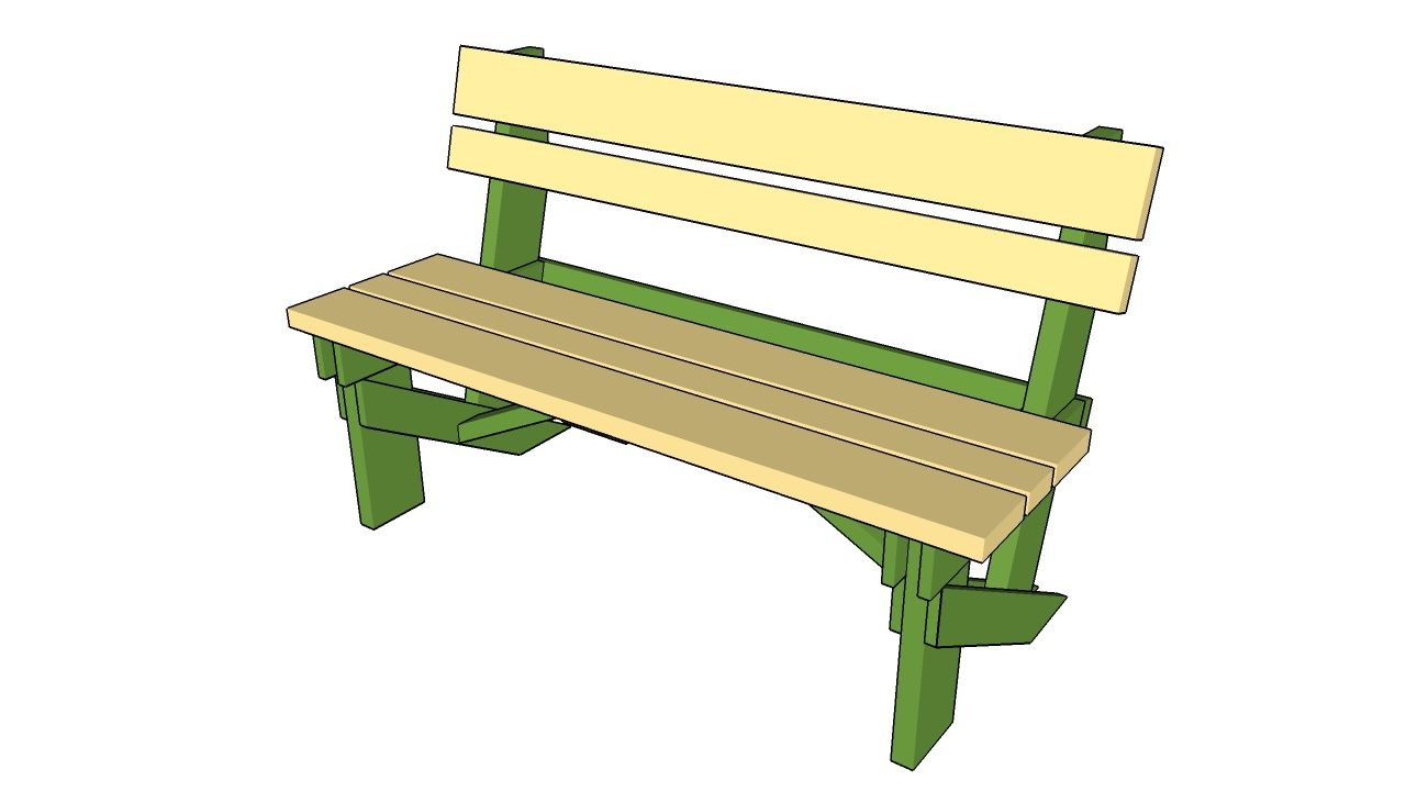 Homemade Garden Bench Ideas Part - 47: This Step By Step Diy Project Is About Simple Garden Bench Plans. Anyone  Can Learn How To Build A Simple Garden Bench, As It Is A Basic Woodworking  Project.