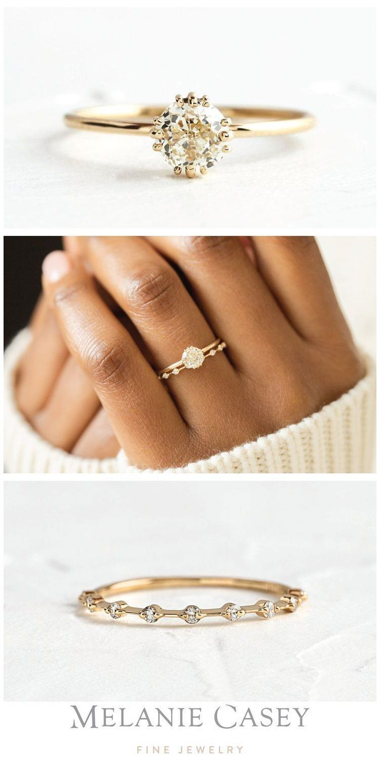 wedding rings simple unique bride