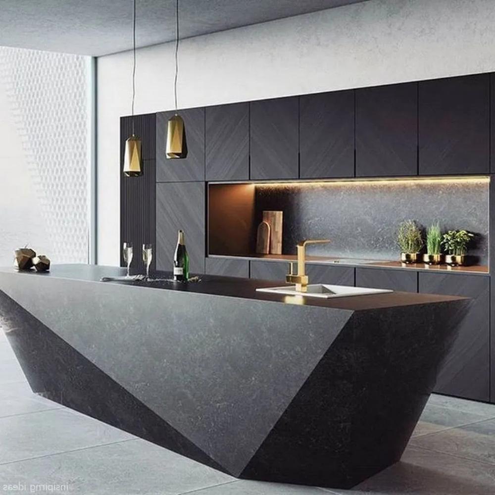 50 Amazing Black Kitchen Design Ideas 2020 10 Modern Kitchen
