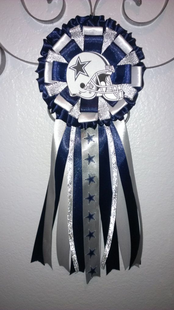 dallas cowboy baby shower mum by lcdecorations on etsy