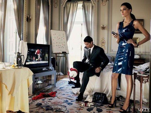 Irina Shayk e Cristiano Ronaldo (Foto: Reprodução)