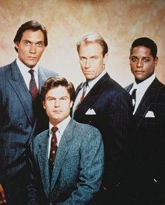 Men: Jimmy Smits, Harry Hamlin, Corbin Bernsen, Blair Underwood ...