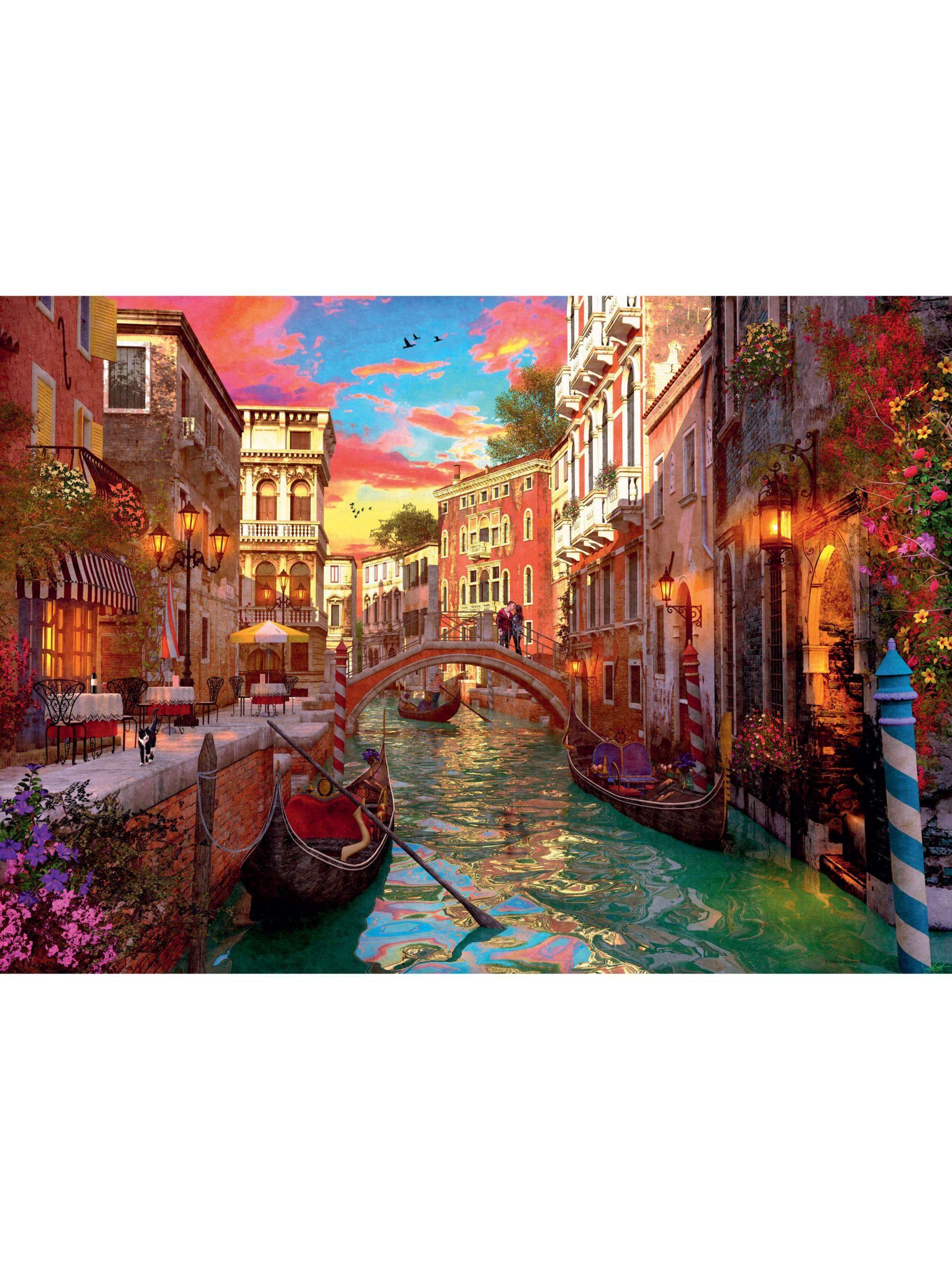 Ravensburger Venice Romance Jigsaw Puzzle 1000 Pieces Game