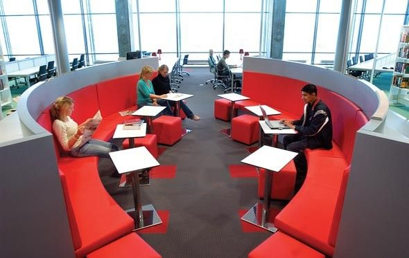 Great Study Area Outdoor Learning Spaces Lounge Design Collaborative Learning Spaces
