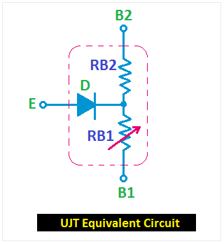UJT equivalent circuit in 2020   Circuit, Power supply ...