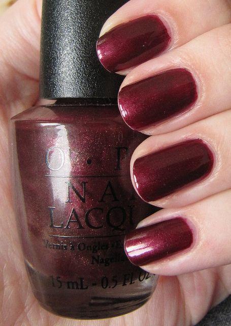 OPI Suzi Loves Sydney - favorite nail polish color