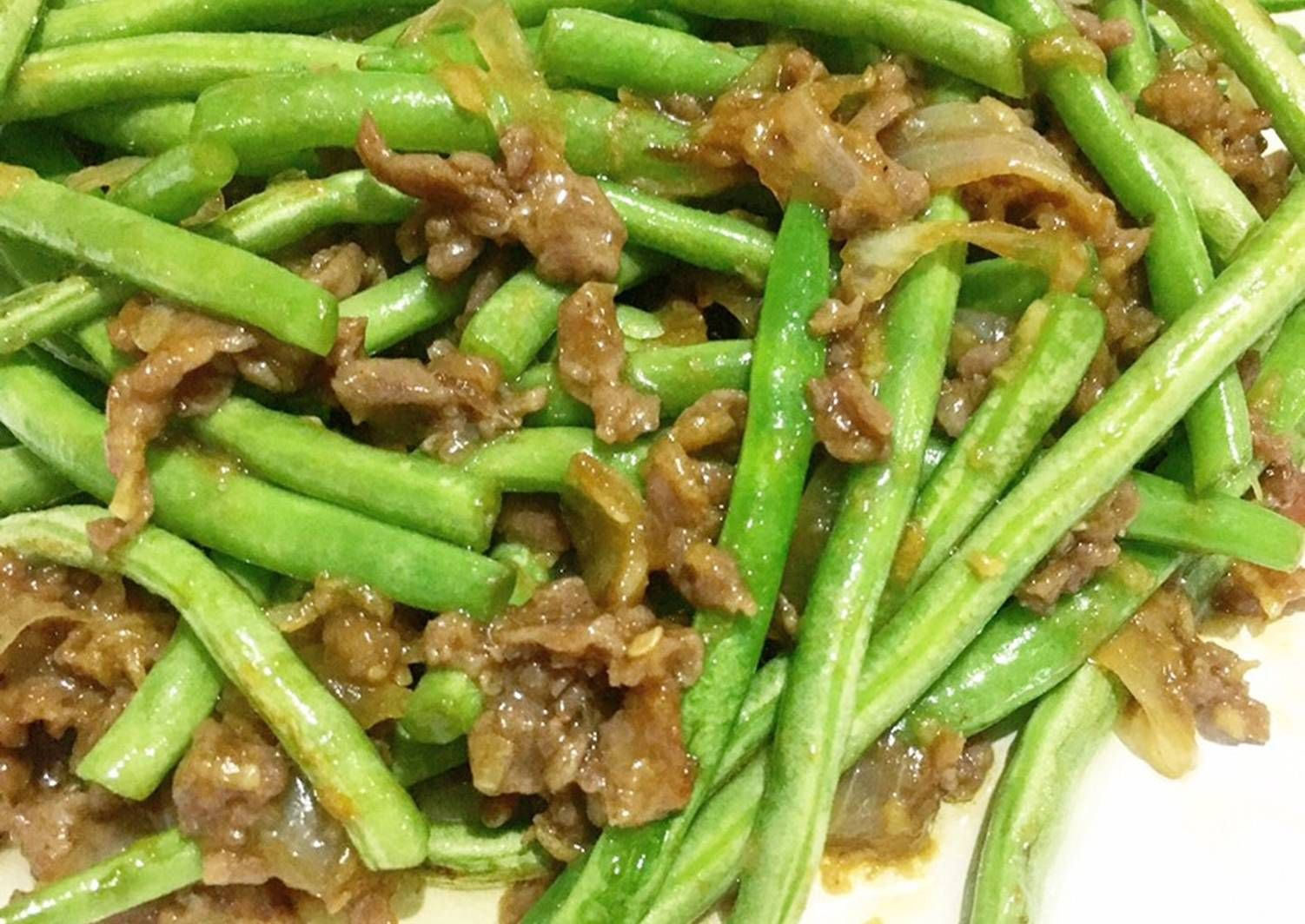 Resep Tumis Buncis Daging Cincang Ala Resto Ta Wan 5resepterbaruku Oleh Luna Resep Di 2020 Resep Makanan Makanan Resep