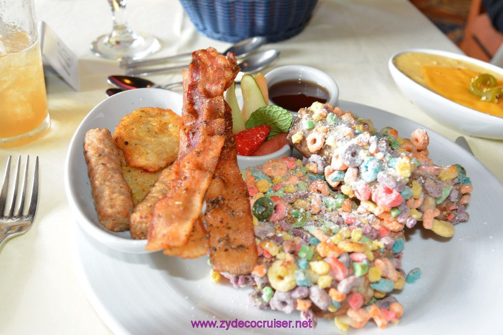 Brunch In A Breeze: 023: Carnival Cruise Seaday Brunch, Fruit Loops French