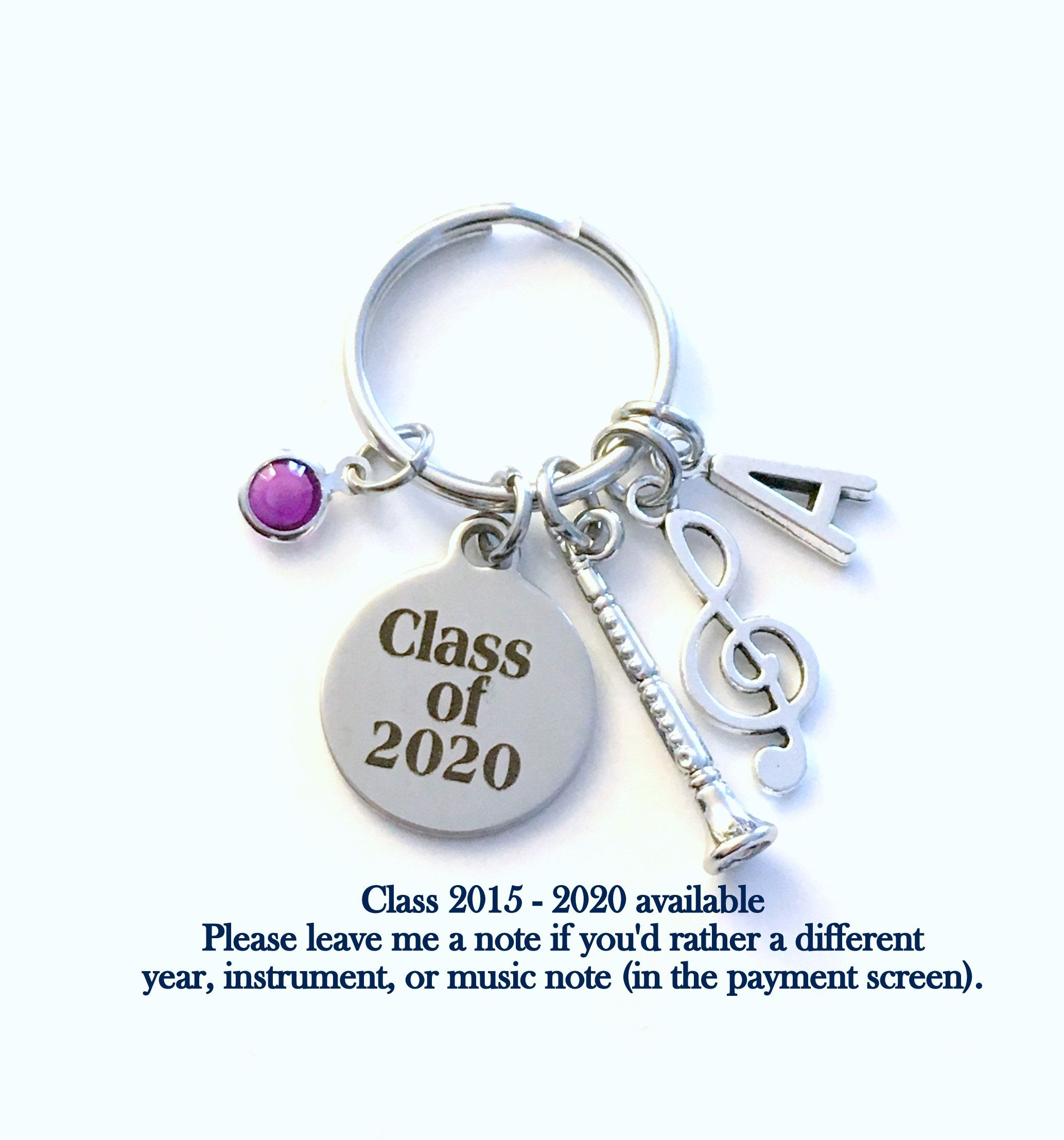 Graduation Music 2020.Musician Graduation Gift For Music Student Keychain Band
