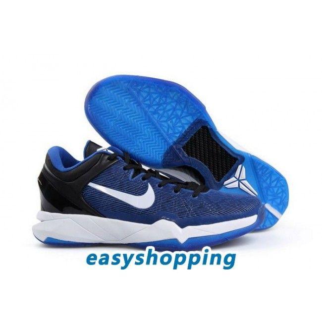 c518f1b151bb Nike Zoom Kobe 7 (VII) System Blue-White-Black