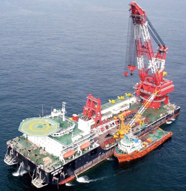 Hilong lands jackets installation gig offshore Indonesia