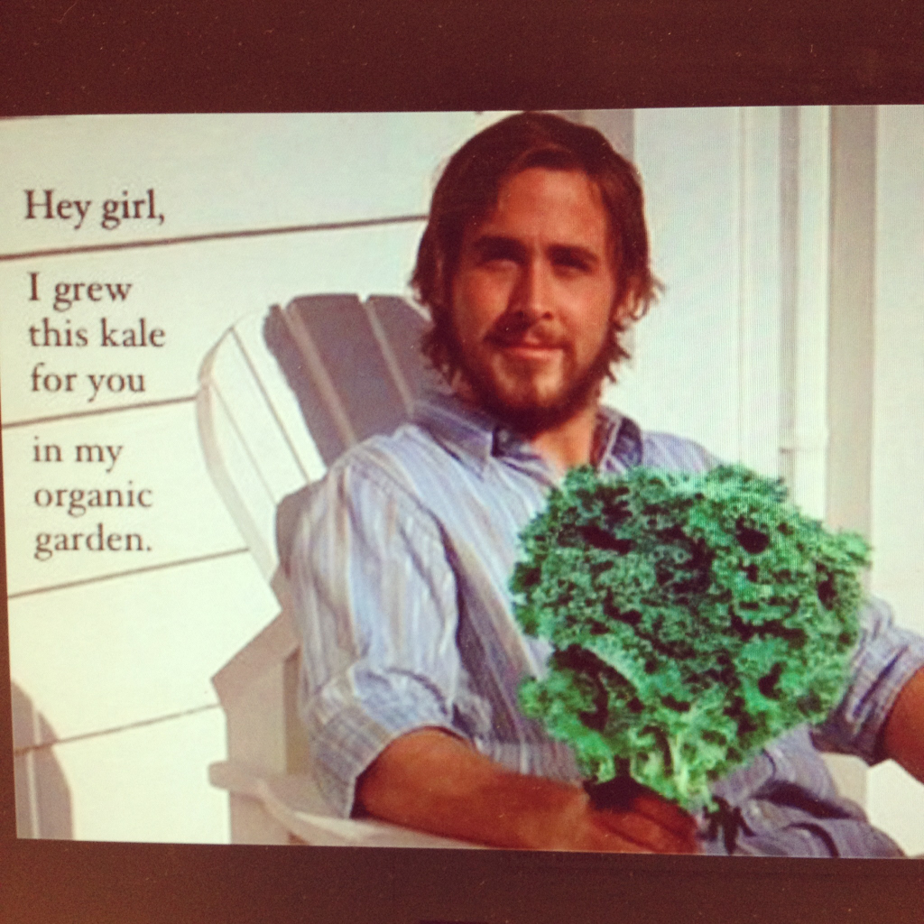 Organic Hey Girl Ryan Gosling Hey Girl Cancer Fighting Smoothies Recipes