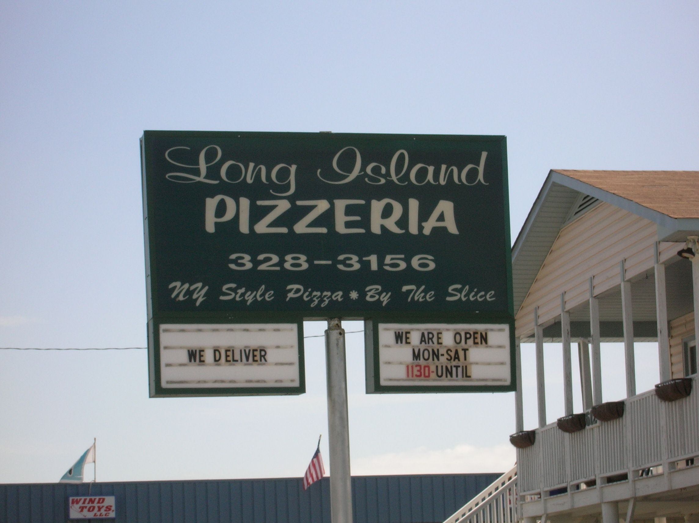 Long Island Pizza In Surf City Topsail Island Surf City Nc Topsail Island Surf City