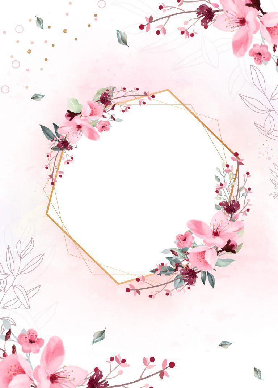 Planner Floral Capa Totalmente Gratis Pronto Para Personalizar E Imprimir Em Casa Floral Blumen Logo Blumen Hintergrund Iphone Blumenrand