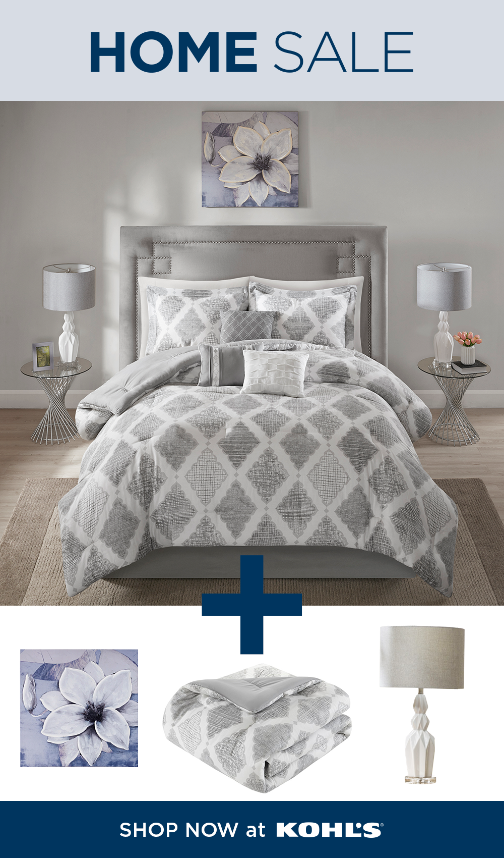 Shop Bedroom Sets At Kohl S Like What You See Shop This Look Now Through April 20 During Our Home Sale Get Th Bedroom Sets Bedding Sets Master Bedroom Home
