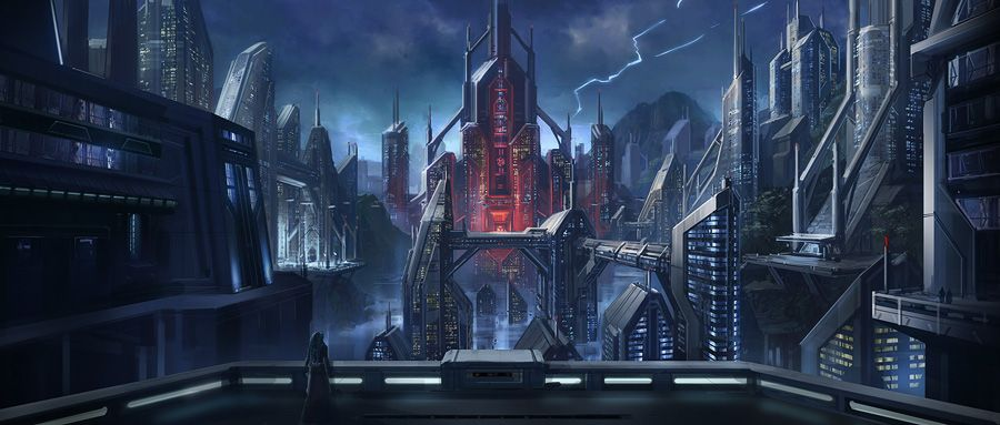 Swtor Dromund Kaas Concept Art In 2020 Star Wars The Old The Old Republic Cloud City Star Wars