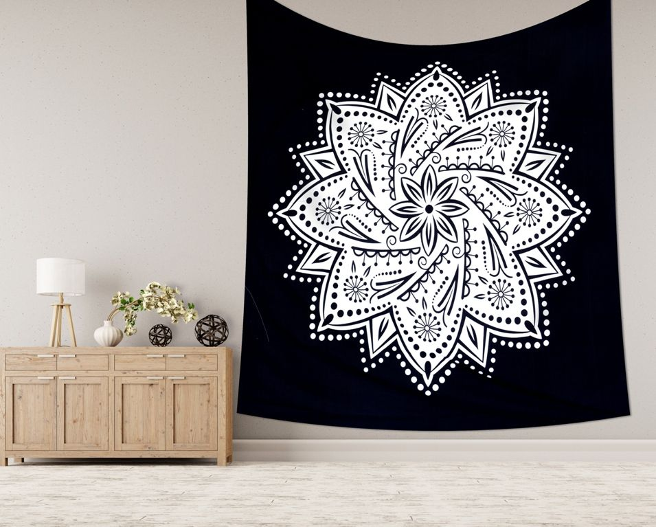 Indian Tapestry Wall Hanging Mandala Hippie Gypsy Bedspread Throw Bohemian Cover