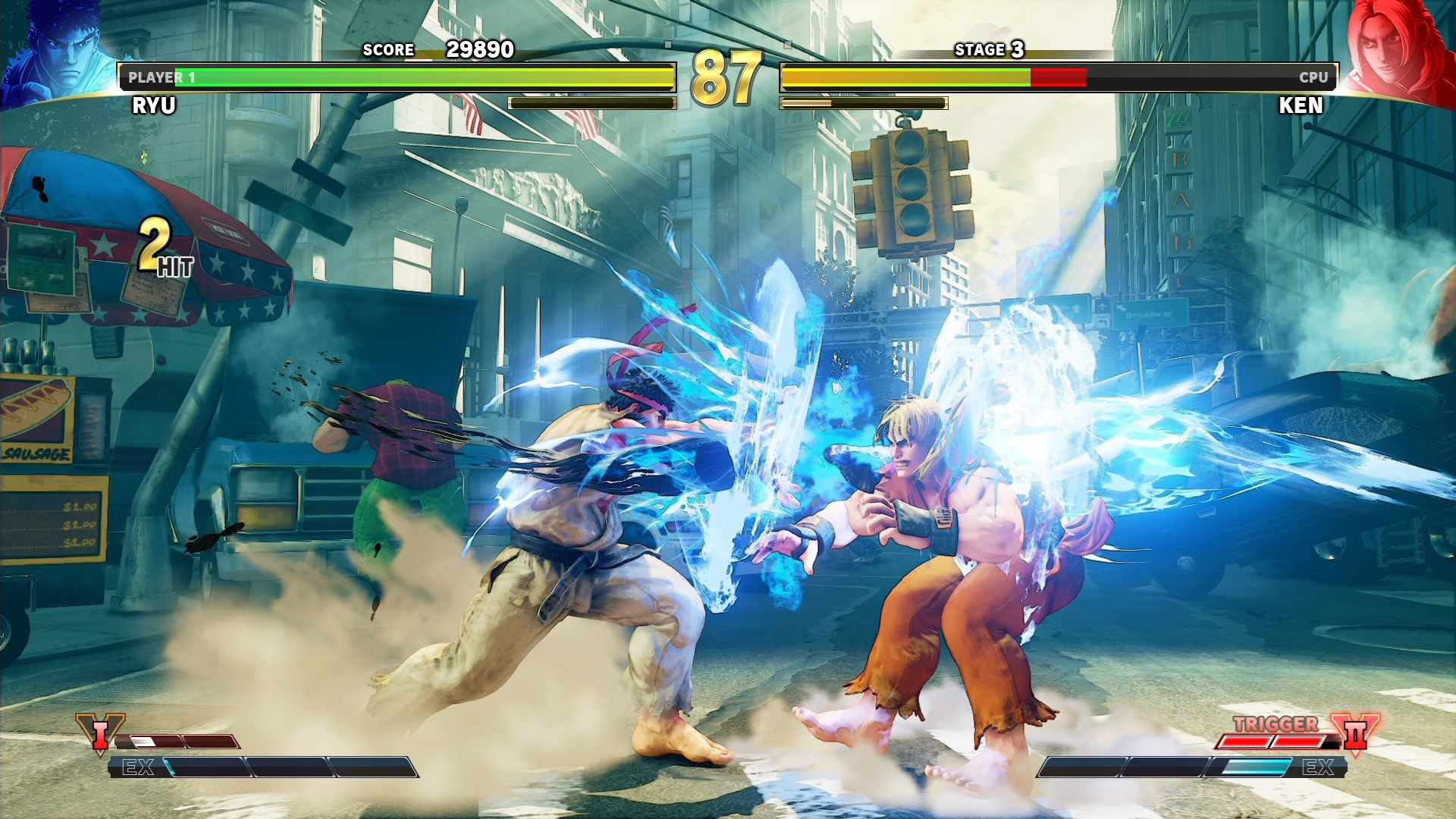 Street Fighter V Arcade Edition Ad Sponsored Fighter