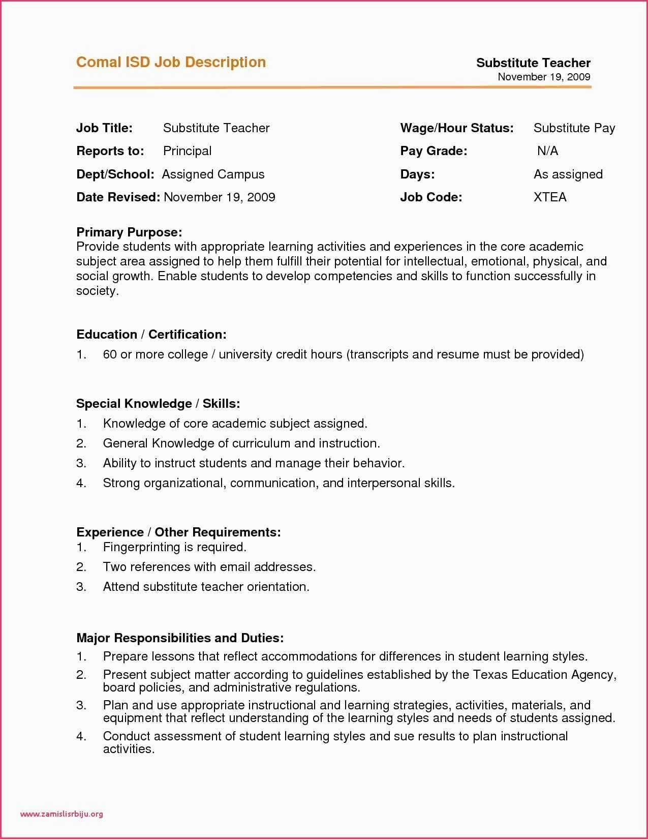 Barista Description for Resume Unique Barista Resume 650