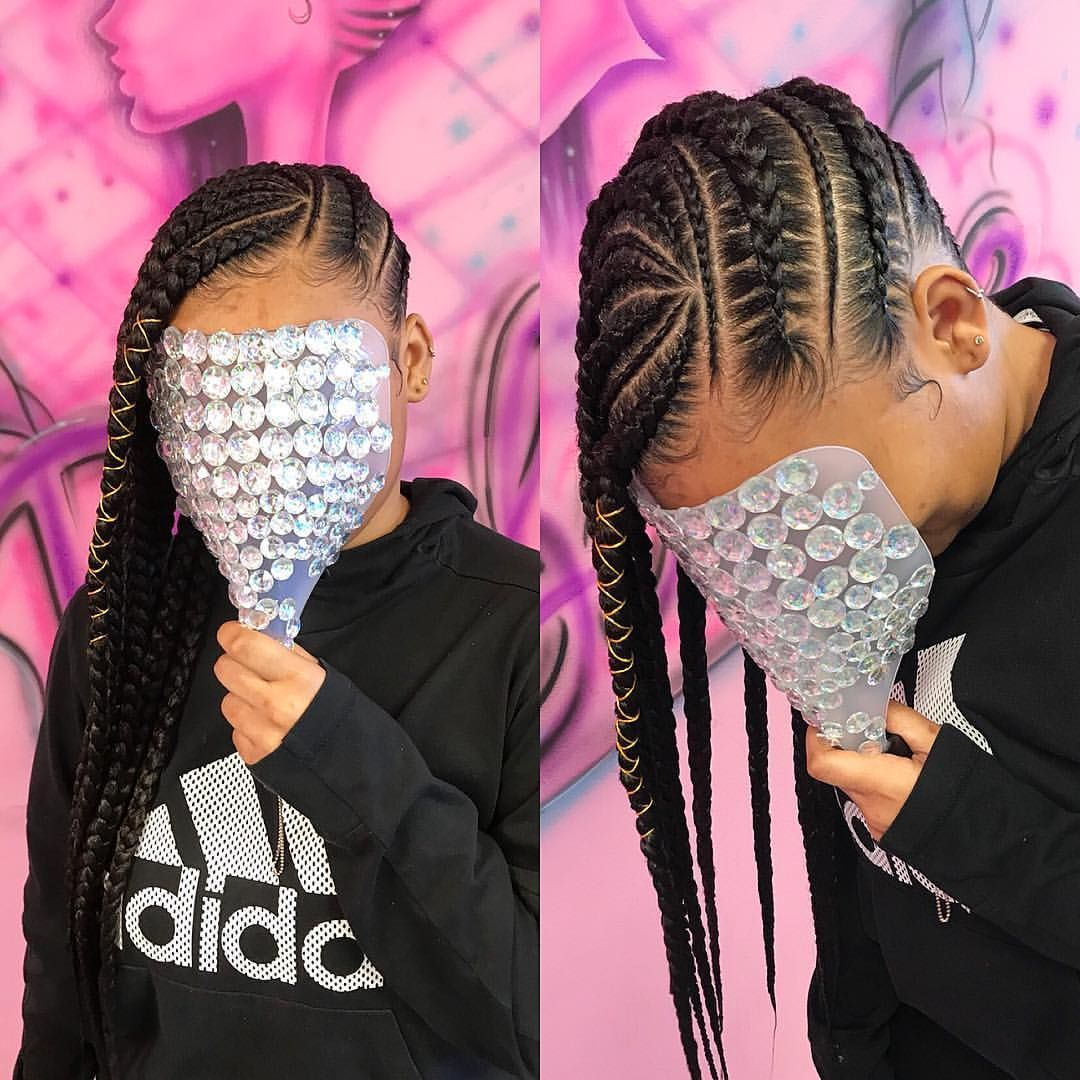 pinterest: @theyloveamarie | Lemonade braids hairstyles ...