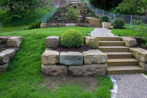 Fancy Neuanlage am Steilhang Referenzen Daniel Maier Garten und Landschaftsbau Alte u