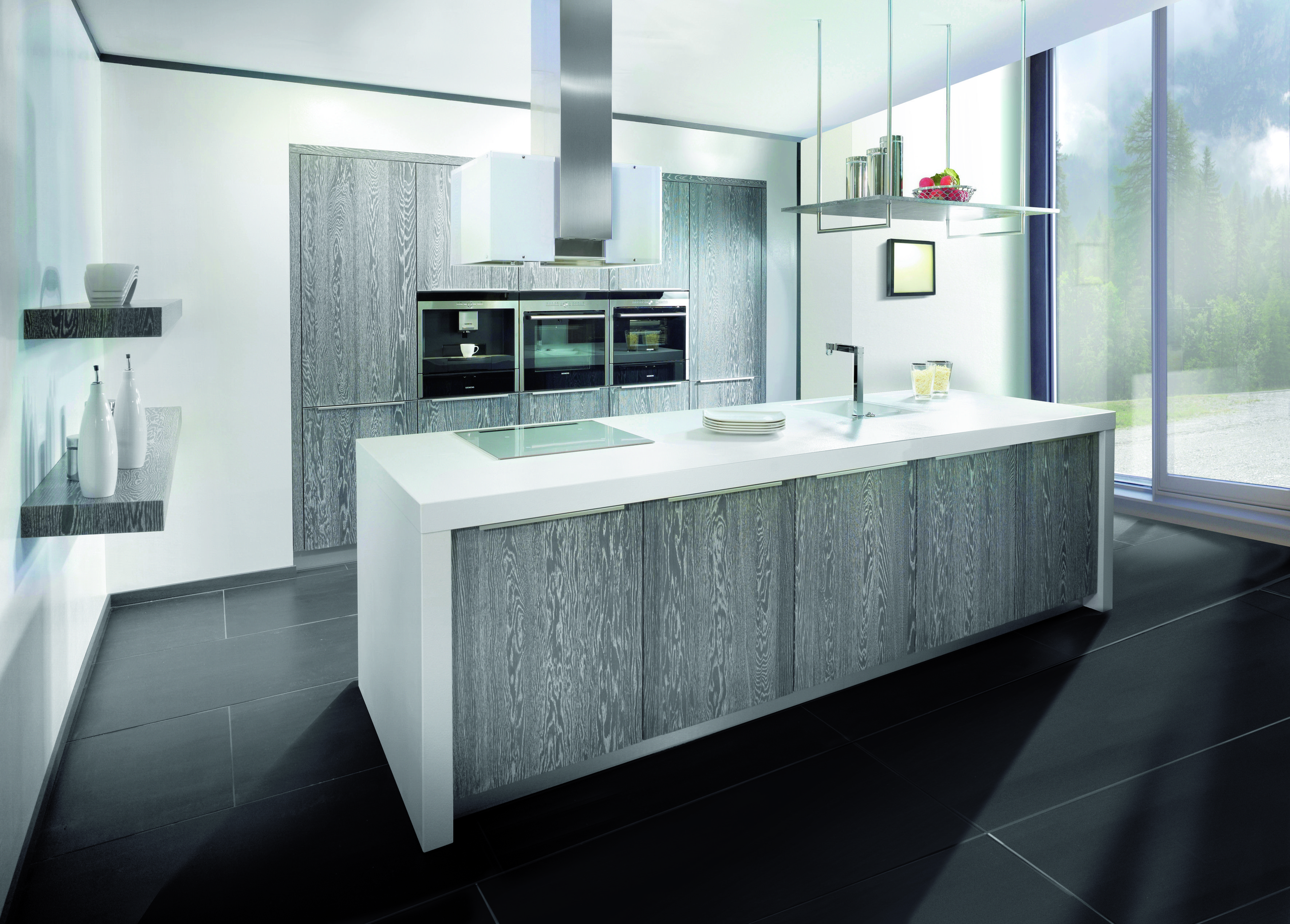 holzk che eiche platin oster m belkollektion gmbh exclusive kitchens pinterest holzk che. Black Bedroom Furniture Sets. Home Design Ideas