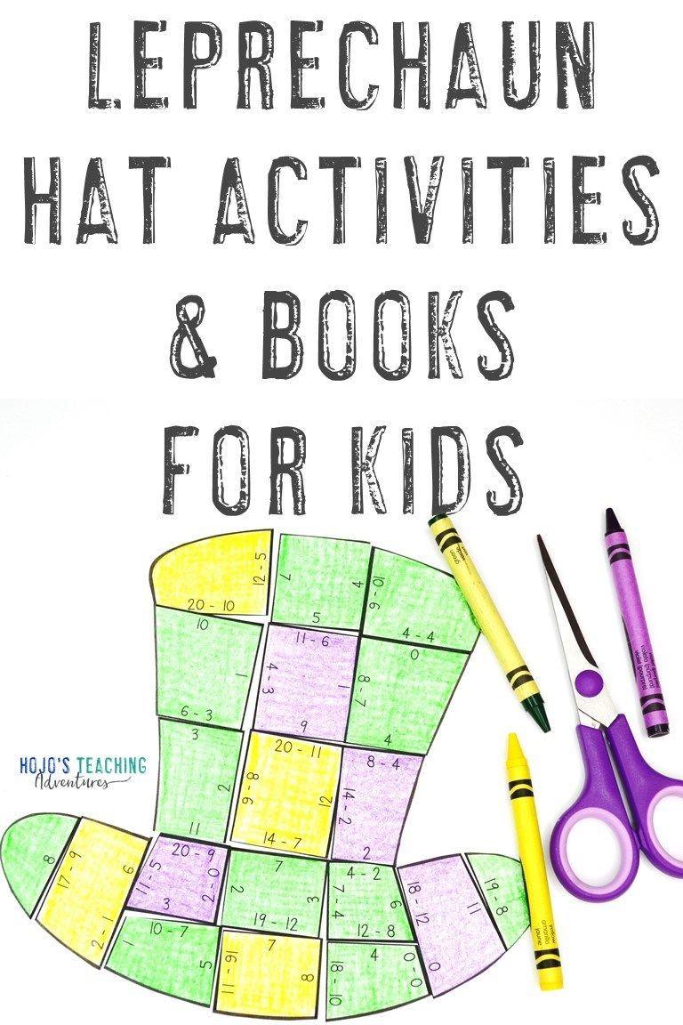 Leprechaun Activities Books For Kids Hojos Teaching Adventures Teaching Adventure Leprechaun Activities Book Activities [ 1152 x 768 Pixel ]