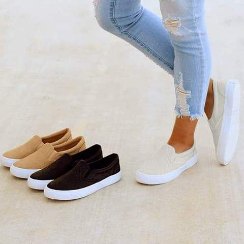 1df423486 Women Fashion Stylish Wedge Sneakers in 2019   Attire   Shoes ...
