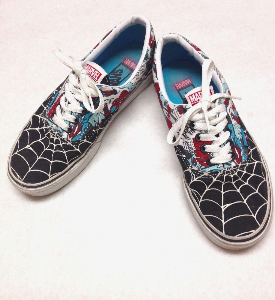 VANS Marvel Comics Spider Man Sneakers