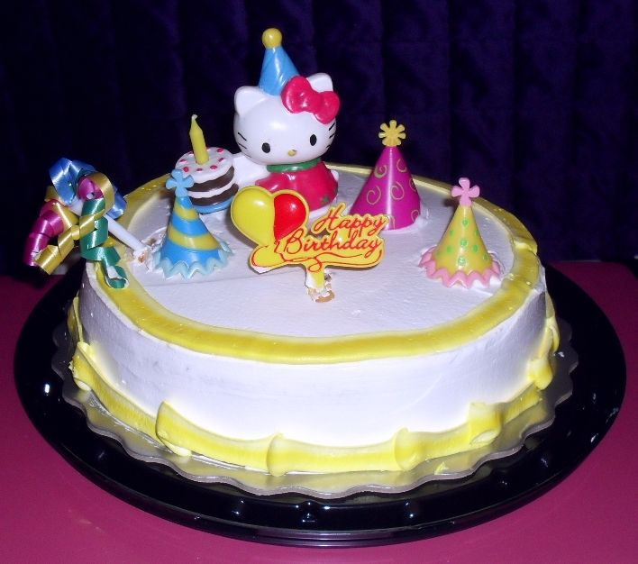 My Birthday Cake 2012