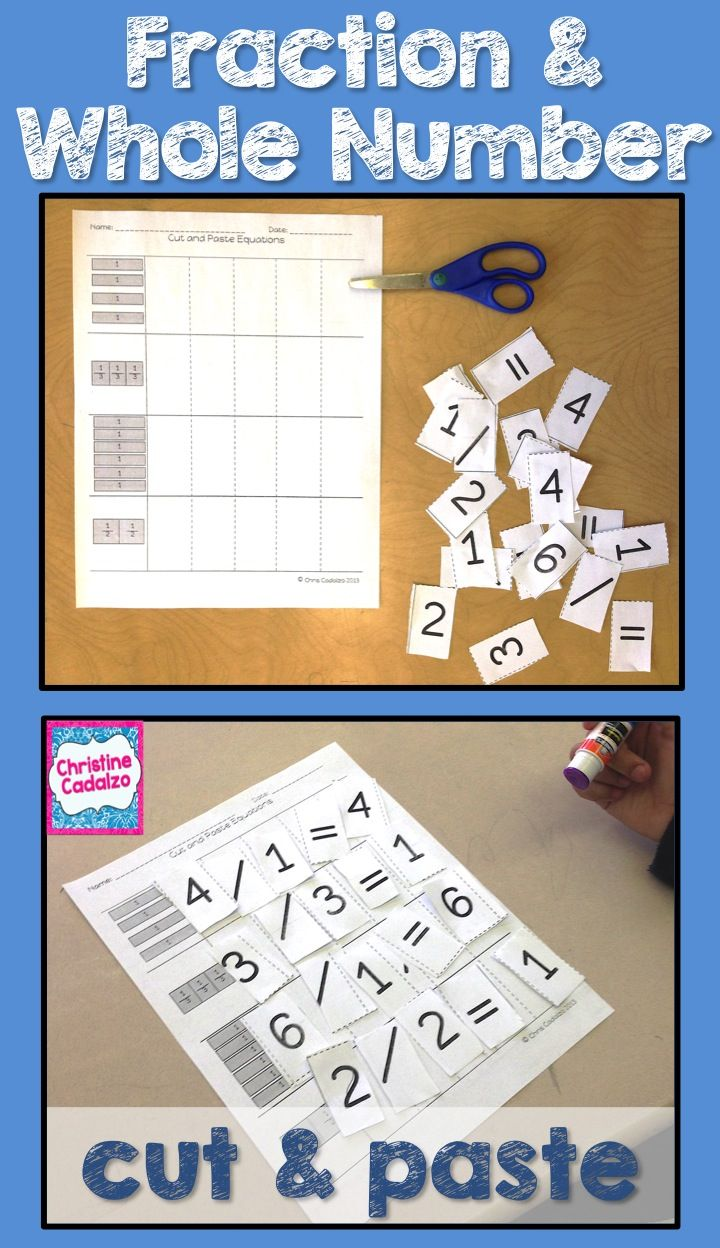 Third Grade Fractions Unit | Pinterest | Equation, Activities and ...