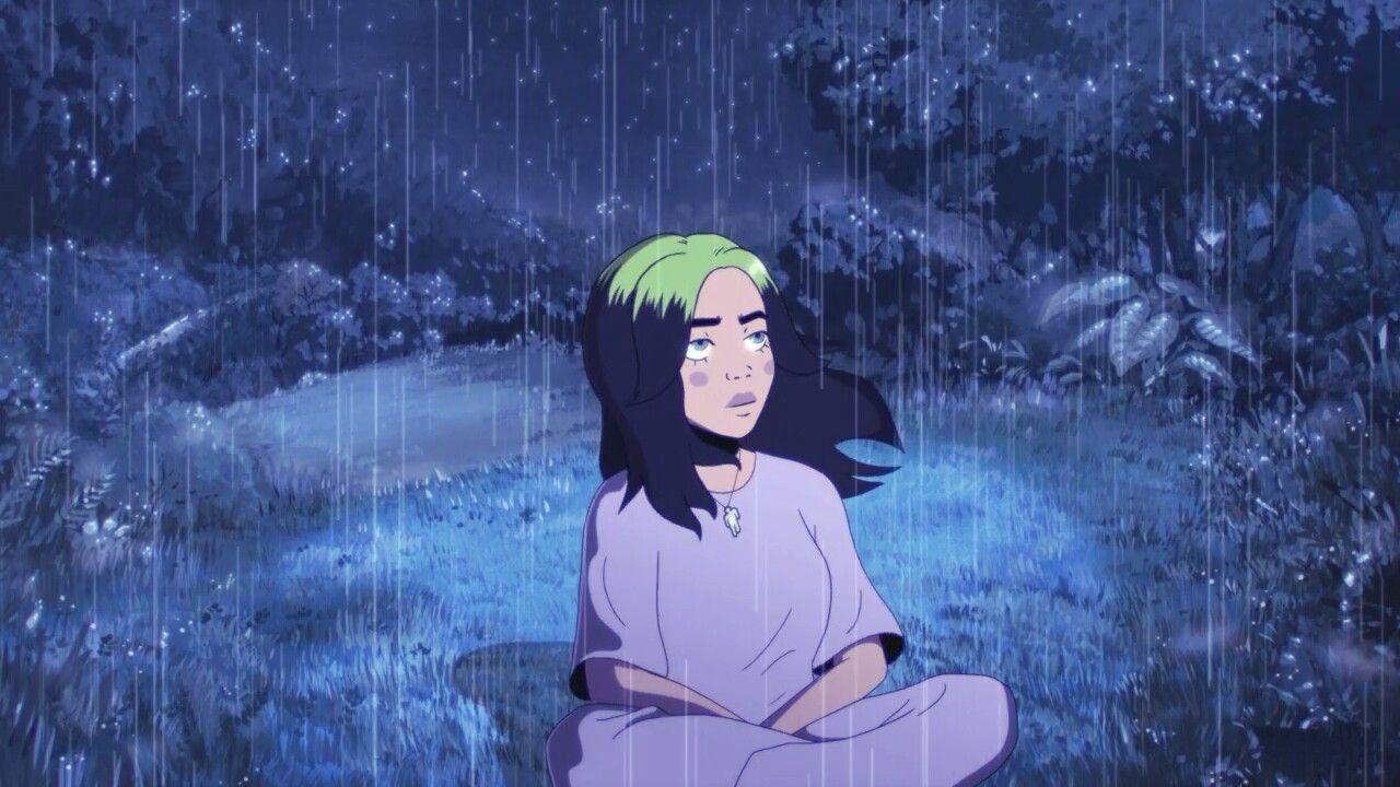 Billie Eilish My Future In 2020 Billie Eilish Billie Animated Music Videos