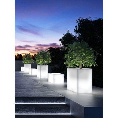 pam verlichte plantenbak kube meeer design