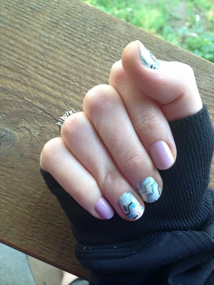 Daydream And Gelato Jamberry Manicure Easy Nails Nailart