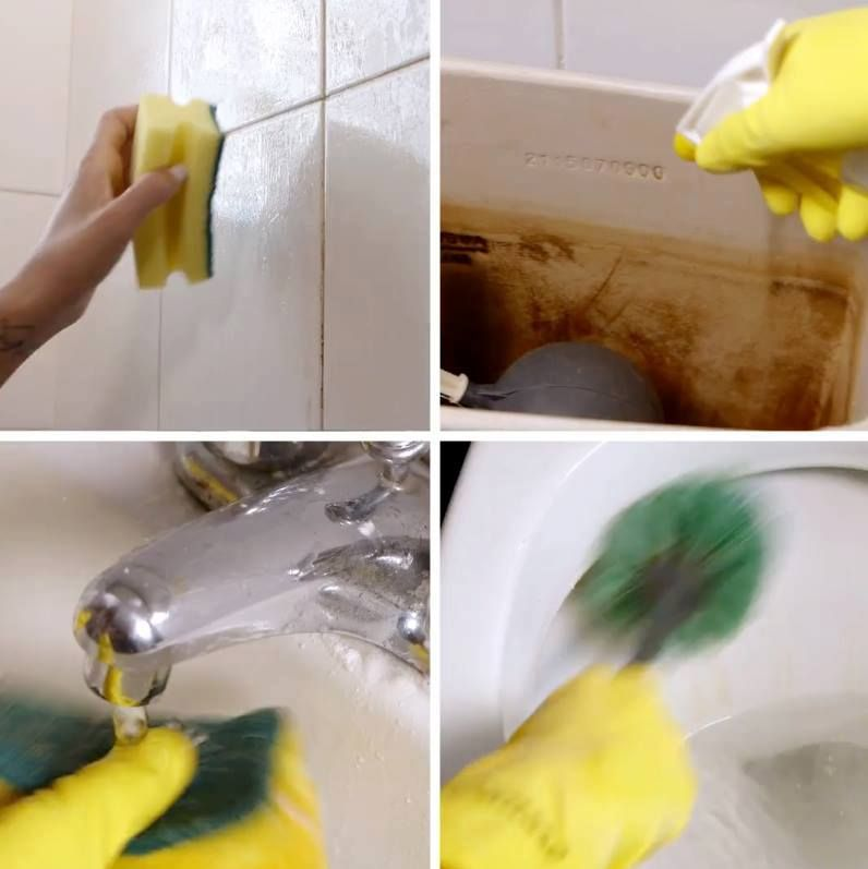Cleaning Every Corner Of Your Bathroom