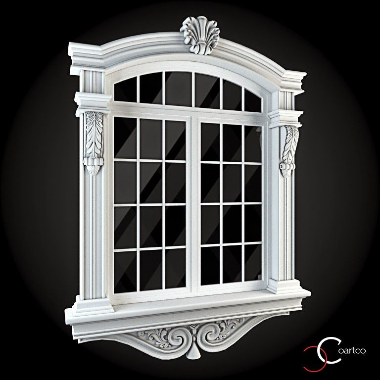 Ornamente Geamuri Exterior Cod: WIN-042 | Profile Decorative ...