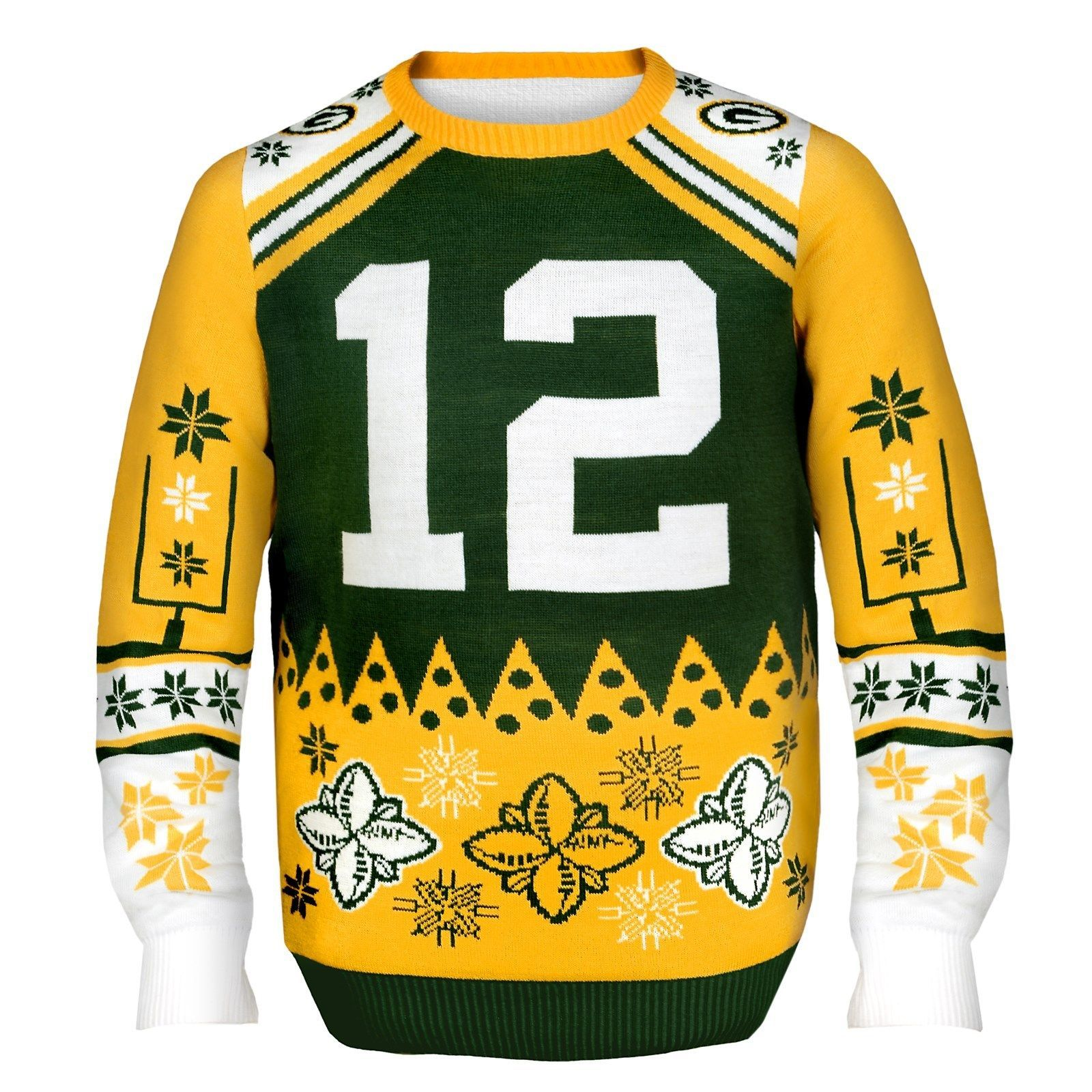 Nfl Football Team Logo Player Ugly Sweater Pick Your Teamplayer