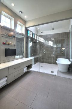 Tub And Shower Combined Design Ideas Pictures Remodel And Decor Bathroom Remodel Shower Bathrooms Remodel Tub Shower Combo
