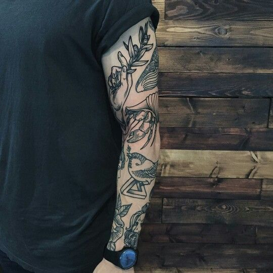 Black Line Tattoo Arm Tattoos For Guys Trendy Tattoos Sleeve Tattoos