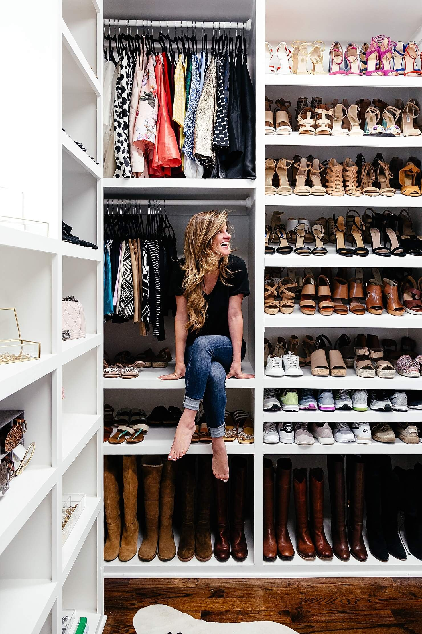 Brighton Keller New Home Closet Reveal Organization How To Organize Your Shoes Inspiration Ideas