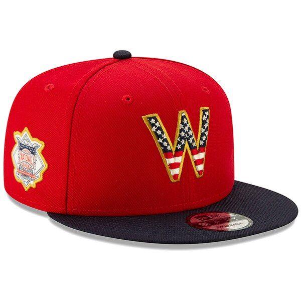 best cheap 7fa1b ea9e3 Men s Washington Nationals New Era Red Navy 2019 Stars  amp  Stripes 4th of  July