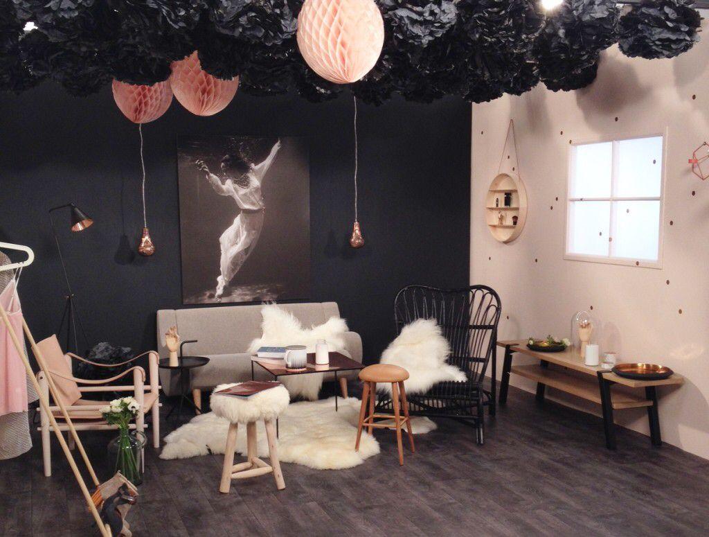 Boudoir teva d co la box home decor dark walls et - Teva deco change decor ...