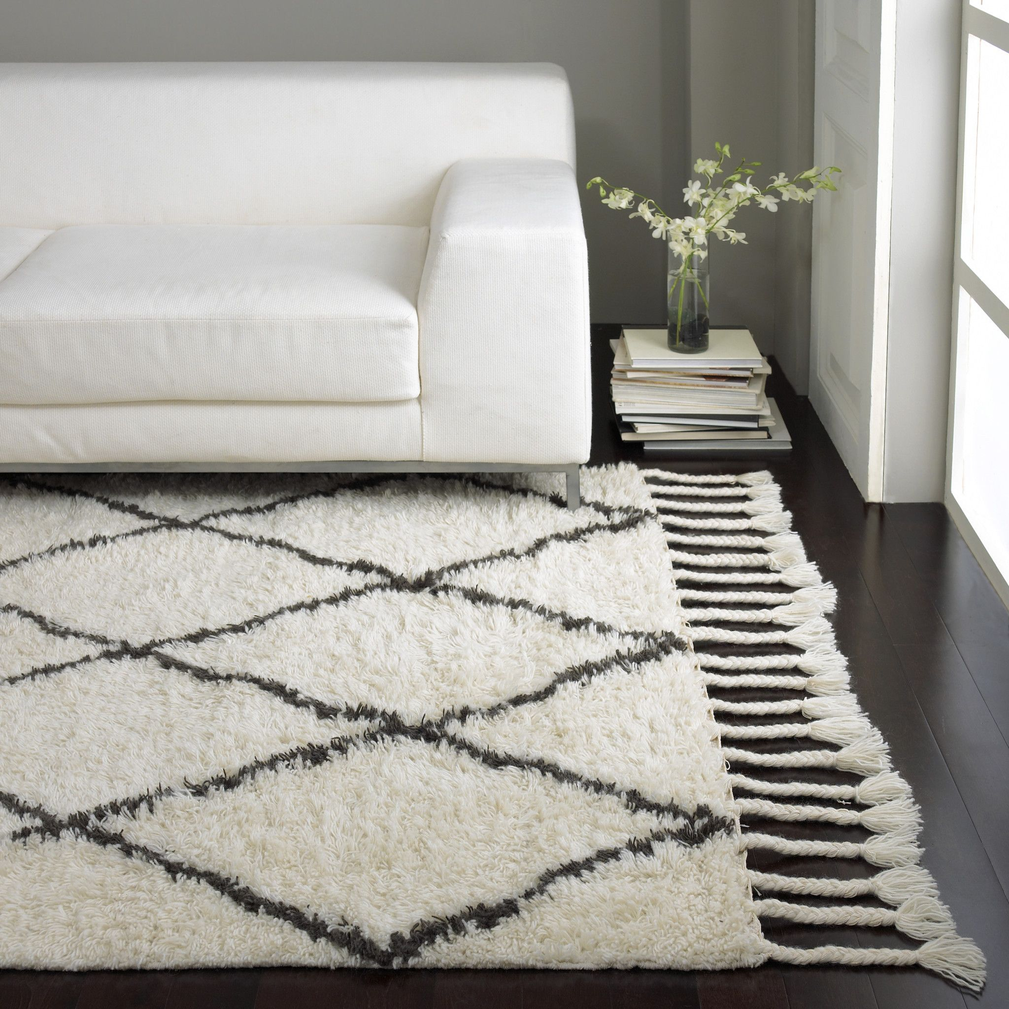 Watch Nu Loom Shag Natural Gray Area Rug video