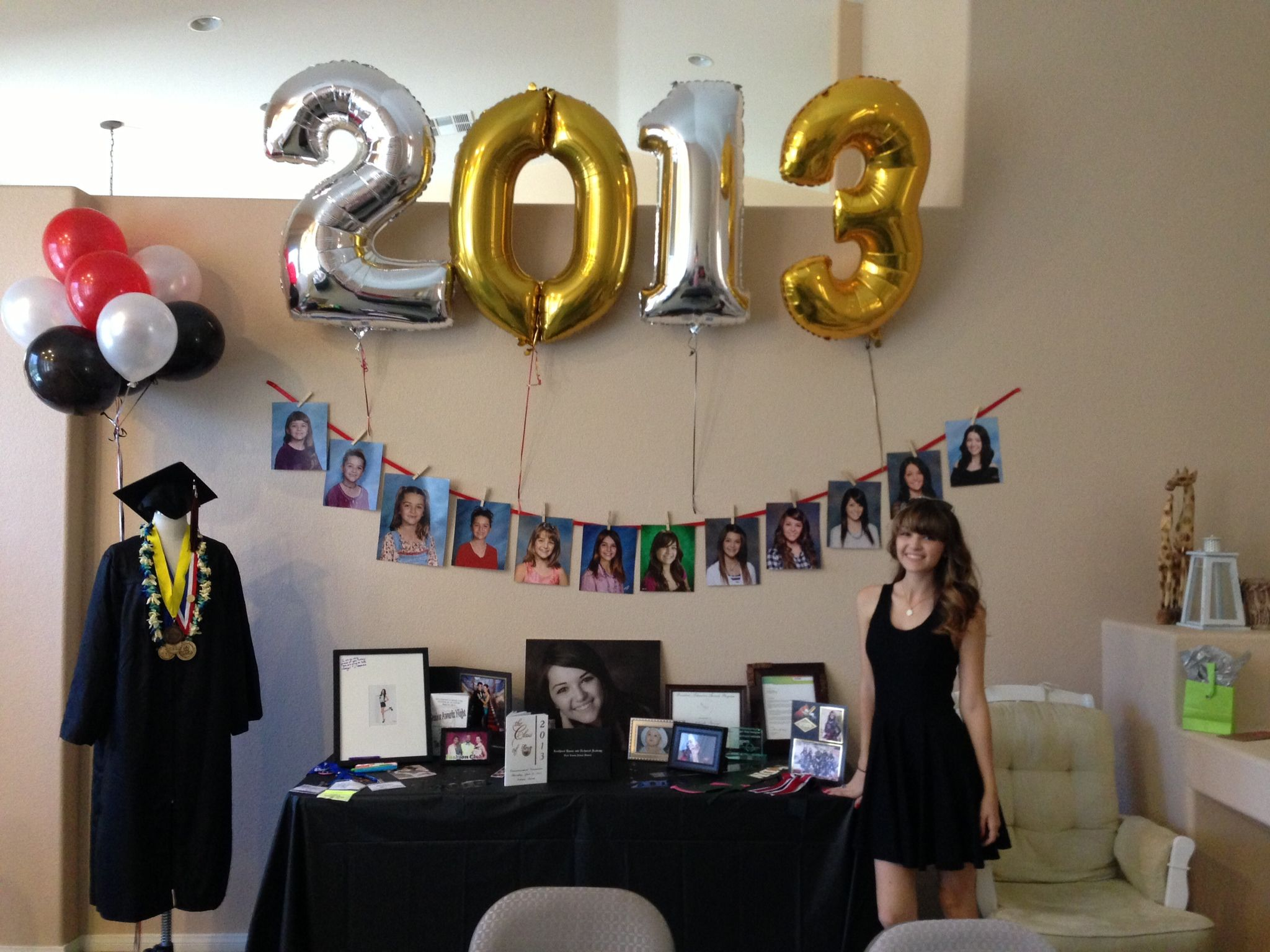 Graduation party decoration ideas & Graduation party decoration ideas | DIY | Pinterest | Decoration ...