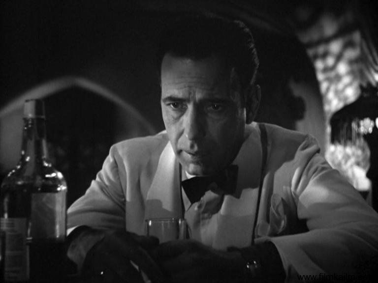 An analysis of the movie casablanca and the character of rick blaine