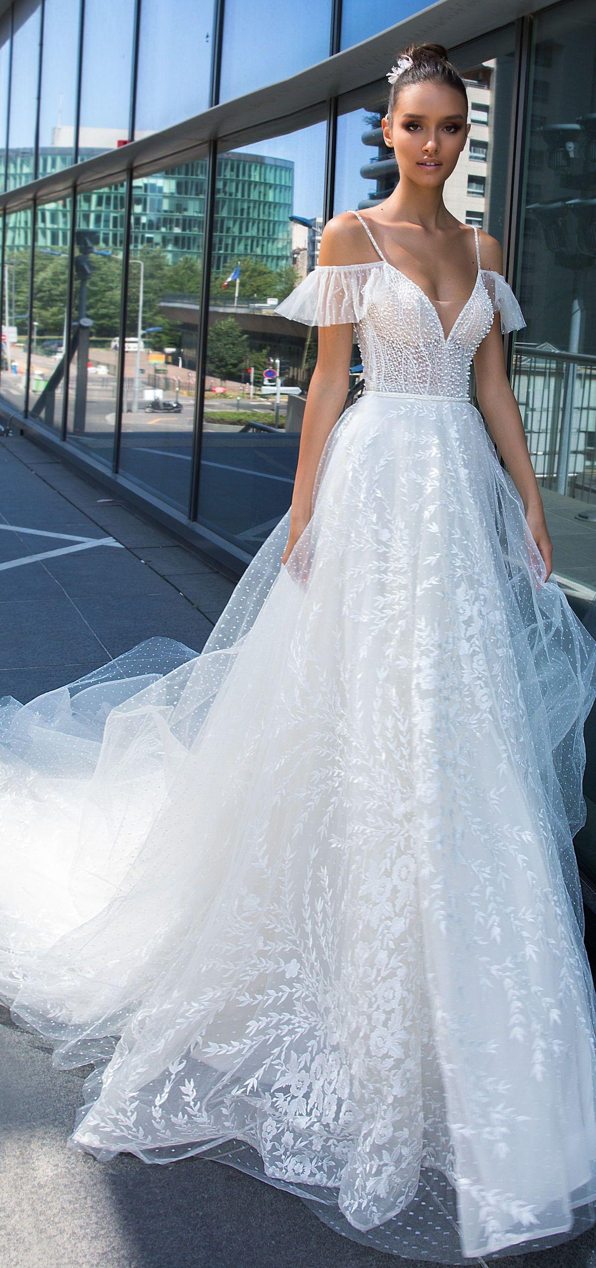 Wedding Dress by Crystal Design Sunny Paris Bridal