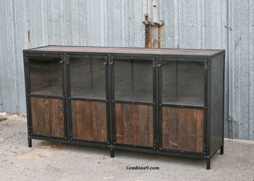 Vintage Industrial Display Case - Retail Fixture. Mid Century Modern.