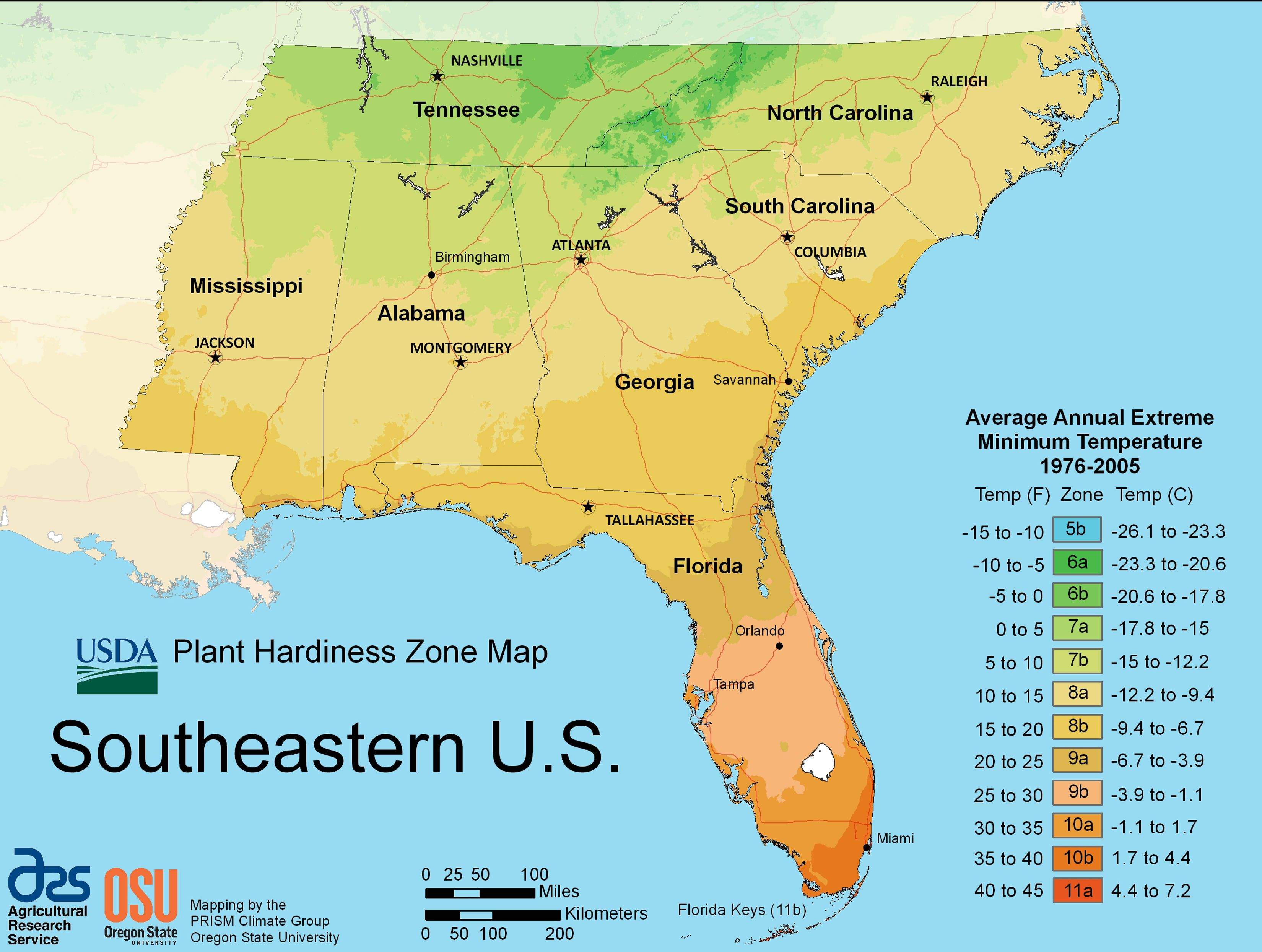 What Are The Gardening Zones In The Us